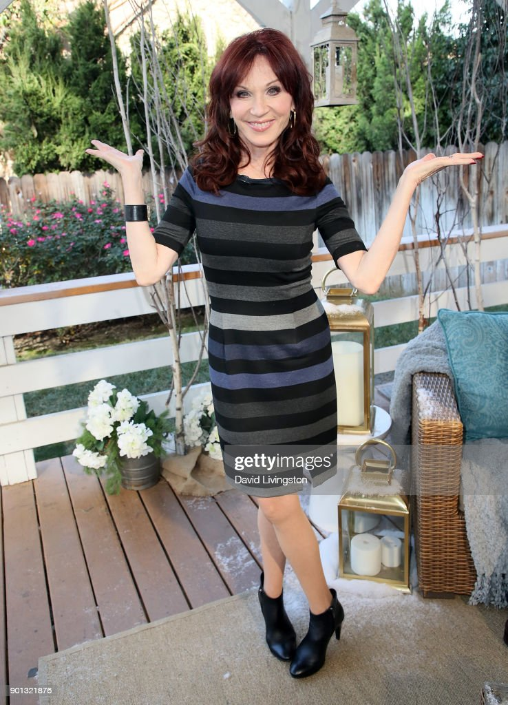 Actress Marilu Henner visits Hallmark's 'Home & Family' at Universal Studios Hollywood on January 4, 2018 in Universal City, California.