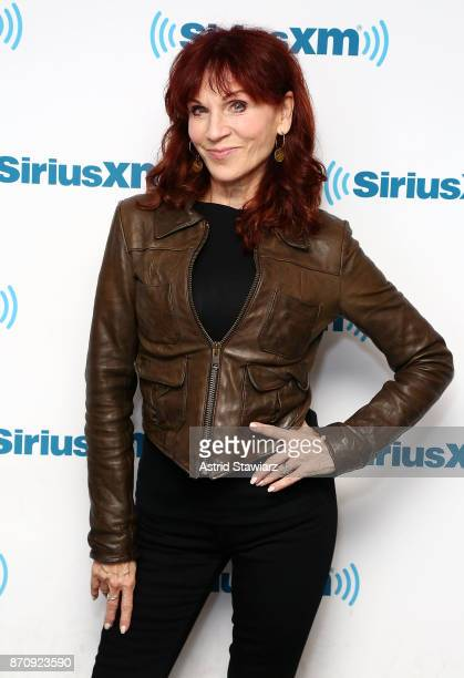 Actress Marilu Henner visits the SiriusXM Studios on November 6 2017 in New York City