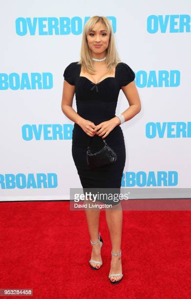 Actress Marilyn Flores attends the premiere of Lionsgate and Pantelion Film's 'Overboard' at Regency Village Theatre on April 30 2018 in Westwood...