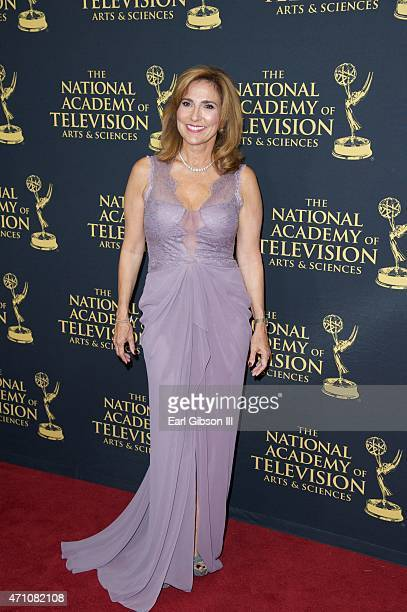Actress Marilyn Milian attends the 42nd Annual Daytime Creative Arts Emmy Awards at Universal Hilton Hotel on April 24 2015 in Universal City...