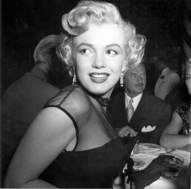 Marilyn Monroe At A Banquet