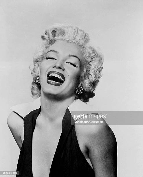 Actress Marilyn Monroe poses for a portrait circa 1953 in Los Angeles California
