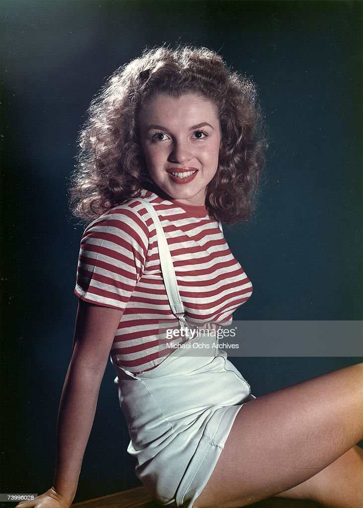 Early Marilyn Portrait : News Photo