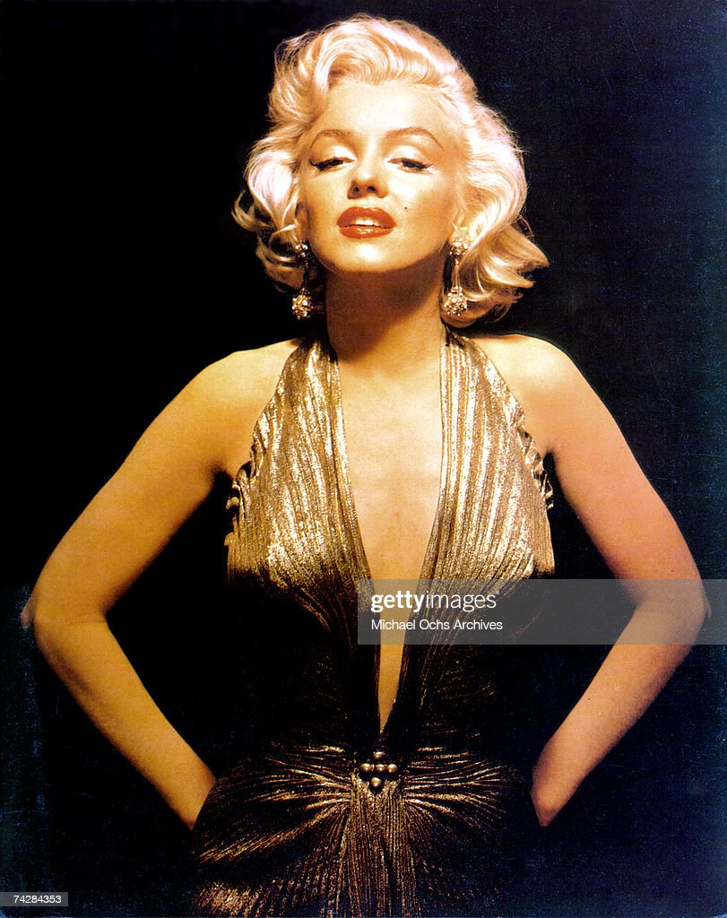 Marilyn Monroe Portrait : News Photo
