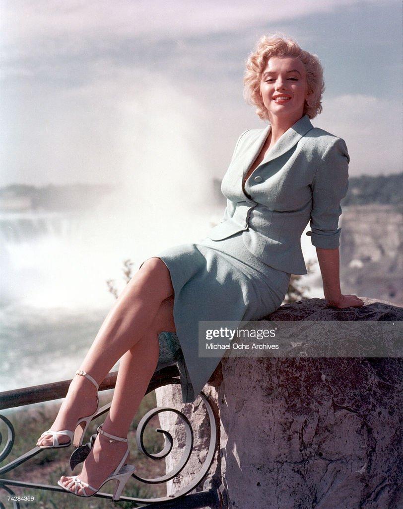 """Marilyn In """"Niagara"""" : News Photo"""