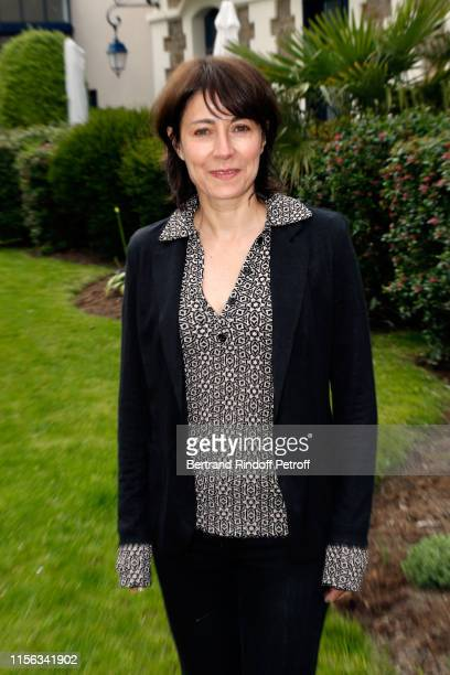 Actress Marilyne Canto attends the Grand Hotel Barrière Dinard Opening on June 15 2019 in Dinard France