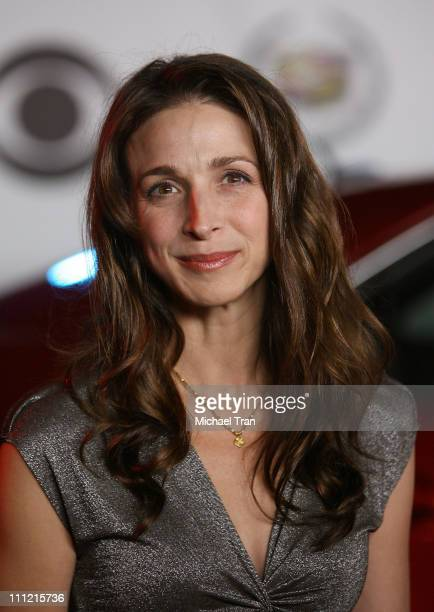 Actress Marin Hinkle arrives at 'The Cadillac of Premieres' at Area Nightclub on September 19 2007 in West Hollywood California
