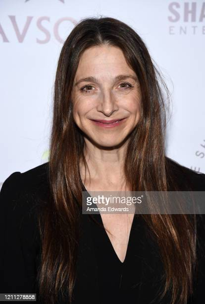 Actress Marin Hinkle arrives at the VIP post show reception with Al Pacino benefiting SCLA Veterans In Art and NAVSO at Via Porto on March 08 2020 in...