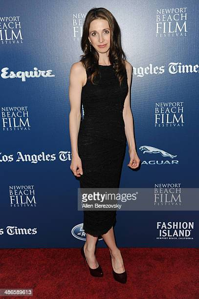 Actress Marin Hinkle attends a special screening of 'LOVESICK' during 2014 Newport Beach Film Festival at Big Newport Theater on April 24 2014 in...