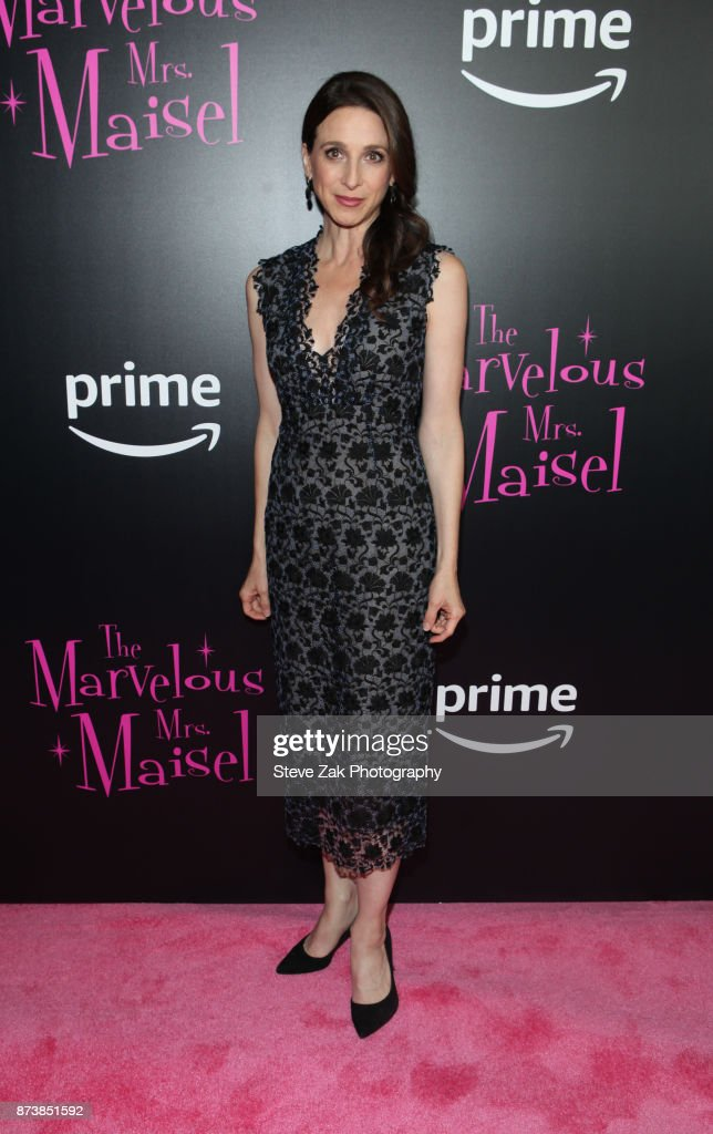 Actress Marin Hinkle attends 'The Marvelous Mrs. Maisel' New York Premiere at Village East Cinema on November 13, 2017 in New York City.
