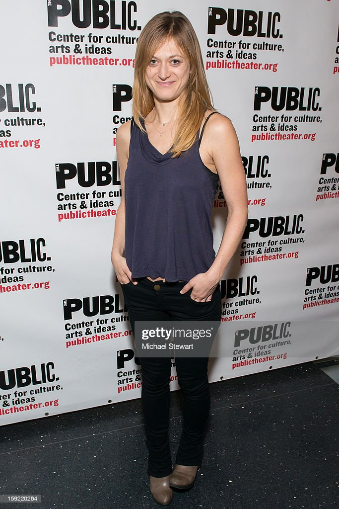 Actress Marin Ireland attends the Under The Radar Festival 2013 Opening Night Celebration at The Public Theater on January 9, 2013 in New York City.