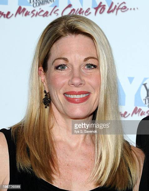 Actress Marin Mazzie attends the 21st Annual Oscar Hammerstein Award Gala at The Edison Ballroom on November 19 2012 in New York City