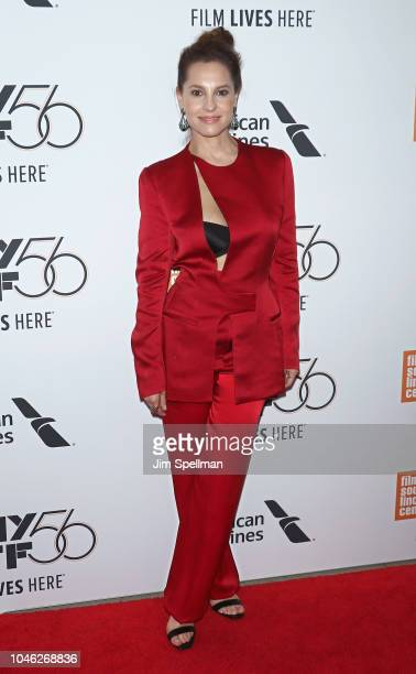 Actress Marina De Tavira attends the 56th New York Film Festival premiere of ROMA at Alice Tully Hall Lincoln Center on October 5 2018 in New York...