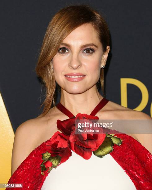 Actress Marina de Tavira attends the premiere of Roma at the American Cinematheque's Egyptian Theatre on December 10 2018 in Hollywood California