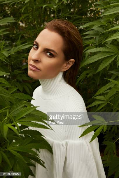 Actress Marina de Tavira is photographed for Marie Claire Magazine Mexico on November 20, 2019 in Los Angeles, California. COVER IMAGE.