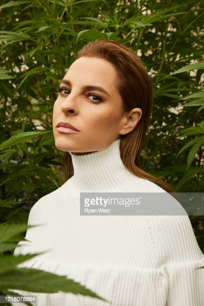 Actress Marina de Tavira is photographed for Marie Claire Magazine Mexico on November 20, 2019 in Los Angeles, California.
