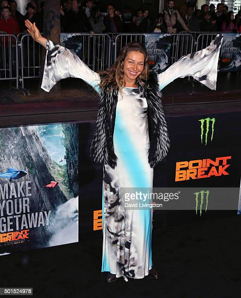 Actress Marina Kazankova attends the premiere of Warner Bros Pictures' Point Break at TCL Chinese Theatre on December 15 2015 in Hollywood California