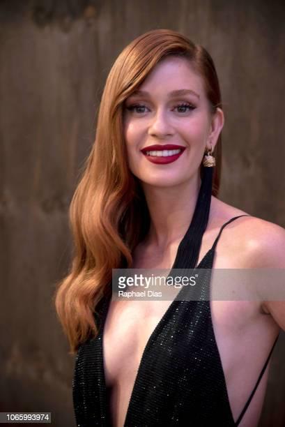 Actress Marina Ruy Barbosa attends the GQ Brazil Men of The Year Awards at Belmond Copacabana Palace on November 27, 2018 in Rio de Janeiro, Brazil.