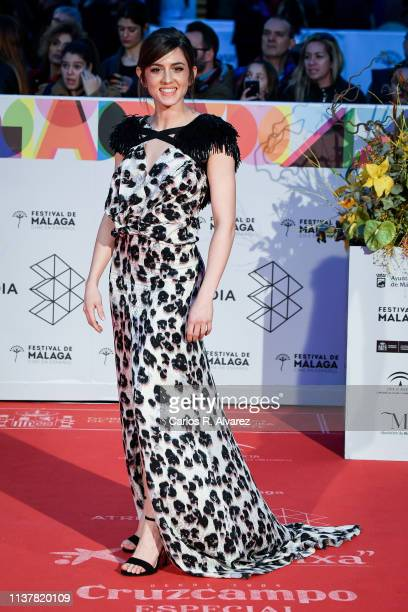 Actress Marina Salas attends the Malaga Film Festival 2019 closing day gala at Cervantes Theater on March 23 2019 in Malaga Spain