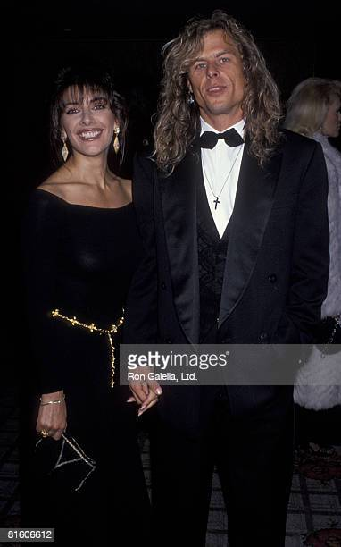 Actress Marina Sirtis and husband Michael Lamper attending Starlight Foundation Benefit Honoring Arsenio Hall and Star TrekThe Next Generation on...