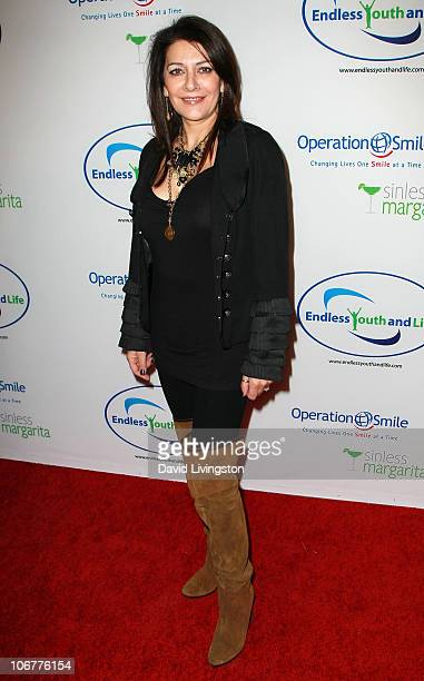 Actress Marina Sirtis attends the Endless Youth Life store opening celebration on November 11 2010 in Beverly Hills California