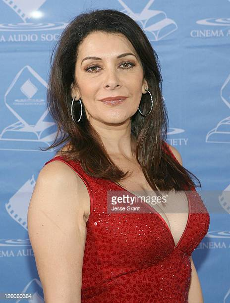 Actress Marina Sirtis attends the the 47th Annual Cinema Audio Society Awards at the Millennium Biltmore Hotel on February 19 2011 in Los Angeles...