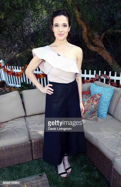 Actress Marina Squerciati attends Hallmark's Home Family at Universal Studios Hollywood on October 2 2017 in Universal City California