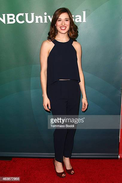 Actress Marina Squerciati attends the NBC/Universal 2014 TCA Winter Press Tour held at The Langham Huntington Hotel and Spa on January 19 2014 in...