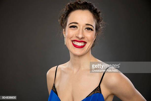 Actress Marina Squerciati poses for a portrait during the NBCUniversal Press Day at The Langham Huntington Pasadena on January 13 2016 in Pasadena...