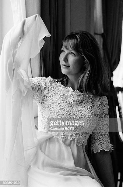 Actress Marina Vlady At Designer Jacques Heim'S Shop In Paris France On May 3 1965