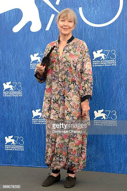 Actress Marina Vlady attends a photocall for 'Spira Mirabiliss' during the 73rd Venice Film Festival at on September 4 2016 in Venice Italy