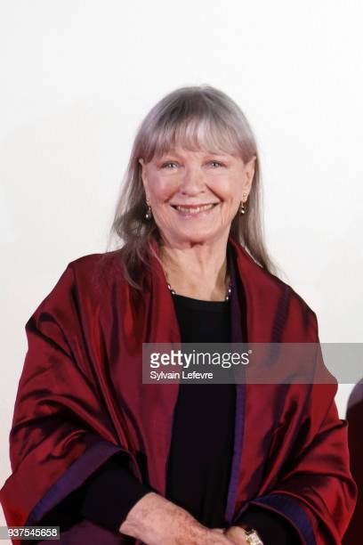 Actress Marina Vlady attends the closing ceremony of Valenciennes Film Festival on March 24 2018 in Valenciennes France