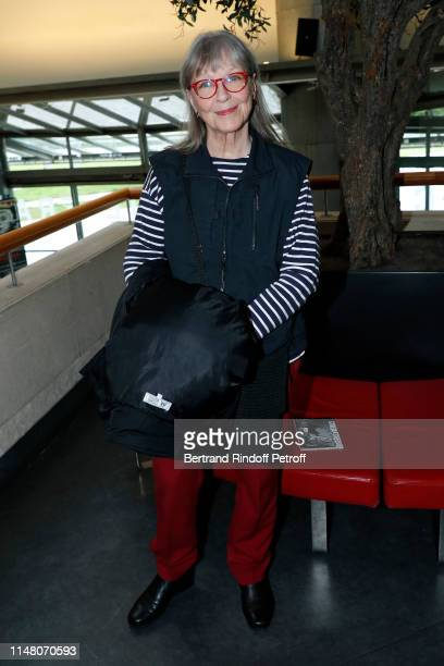 Actress Marina Vlady attends the Tribute to Director Michel Deville at Cinematheque Francaise on May 09 2019 in Paris France