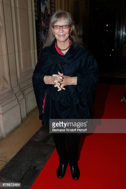 Actress Marina Vlady attends the Tribute to JeanClaude Brialy for the 10th anniversary of his death Held at Centre National du Cinema et de l'Image...