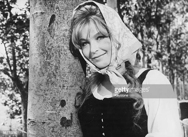 Actress Marina Vlady in a scene from the film 'Il Ladro Della Gioconda' Rome September 2nd 1965