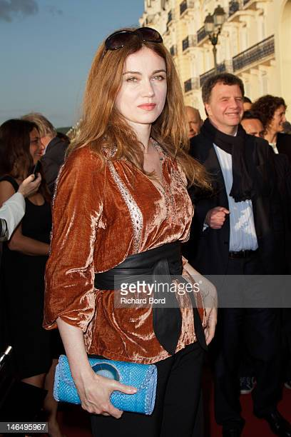 Actress Marine Delterme attends the 26th Cabourg Romantic Film Festival on June 15 2012 in Cabourg France