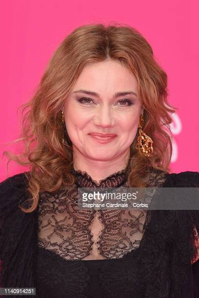 Actress Marine Delterme attends the 2nd Canneseries - International Series Festival : Day Two on April 06, 2019 in Cannes, France.