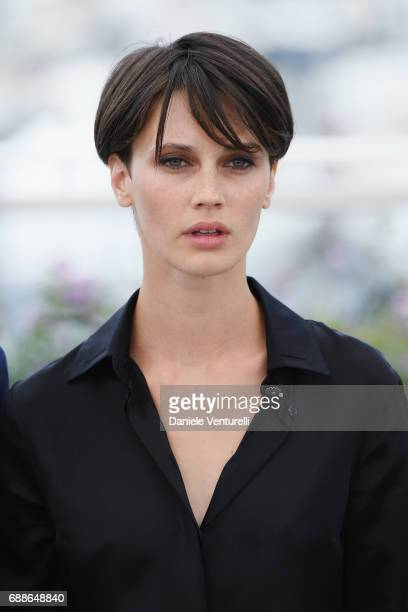 Actress Marine Vacth attends the Amant Double photocall during the 70th annual Cannes Film Festival at Palais des Festivals on May 26 2017 in Cannes...