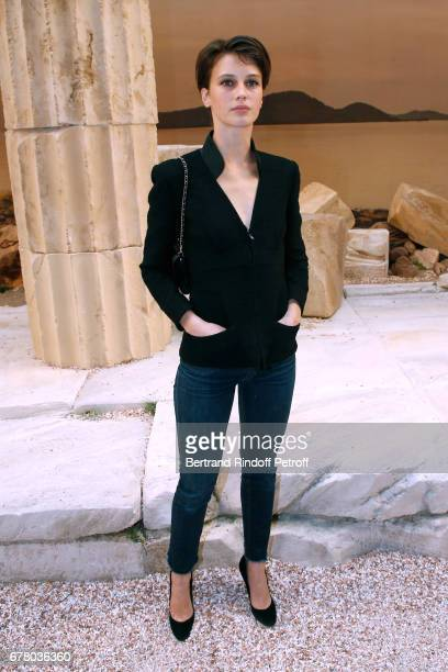 Actress Marine Vacth attends the Chanel Cruise 2017/2018 Collection Show at Grand Palais on May 3 2017 in Paris France