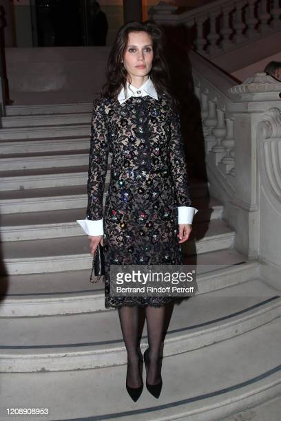 Actress Marine Vacth attends the Harper's Bazaar Exhibition as part of the Paris Fashion Week Womenswear Fall/Winter 2020/2021 At Musee Des Arts...