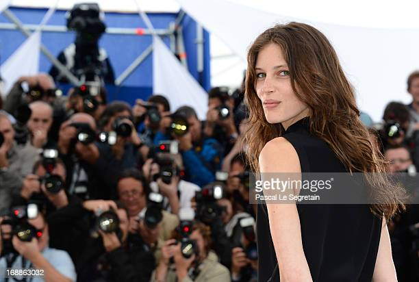 Actress Marine Vacth attends the 'Jeune Jolie' Photocall during the 66th Annual Cannes Film Festival at the Palais des Festivals on May 16 2013 in...