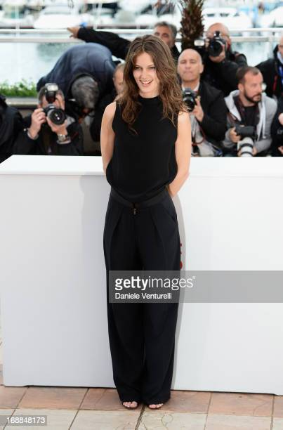 Actress Marine Vacth attends the photocall for 'Jeune & Jolie' during the 66th Annual Cannes Film Festival at the Palais des Festivals on May 16,...