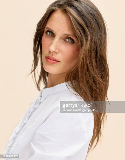 Actress Marine Vacth poses for a portrait for Madame Figaro on July 6, 2020 in Paris, France.