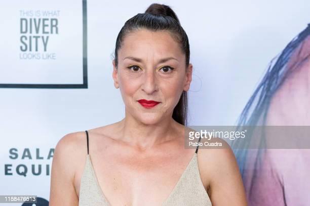 Actress Mariola Fuentes attends 'Deseando Amar Himno para invisibles' photocall at Sala Equis on June 26 2019 in Madrid Spain