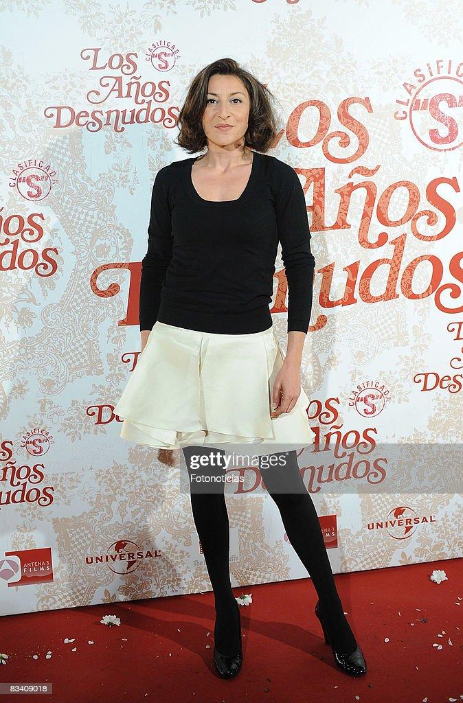 Actress Mariola Fuentes Attends The Los Aos Desnudos Premiere At