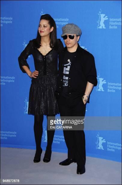 Actress Marion Cotillard and Director Olivier Dahan