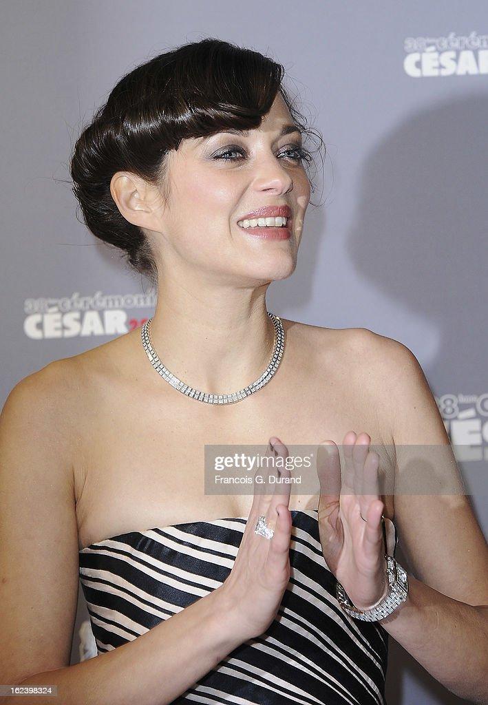 Red Carpet Arrivals - Cesar Film Awards 2013 : ニュース写真