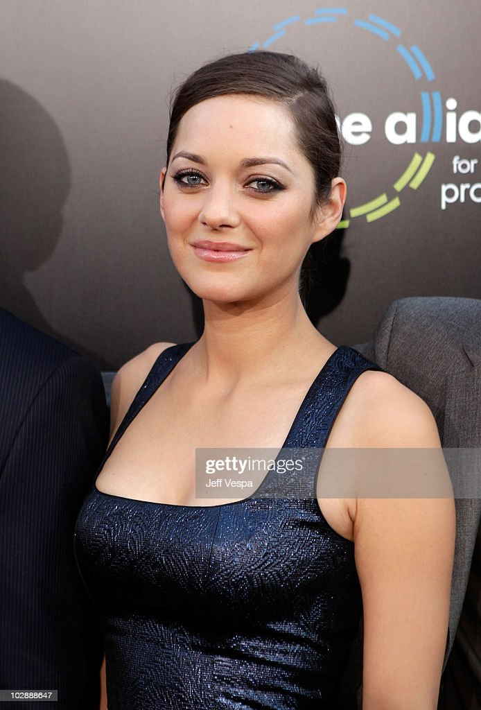 Actress Marion Cotillard Arrives At The Inception Los