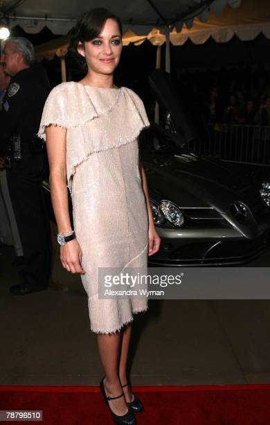Actress Marion Cotillard arrives to the 19th Annual Palm Springs International Film Festival Awards Gala Presented by Cartier held at the Palm...