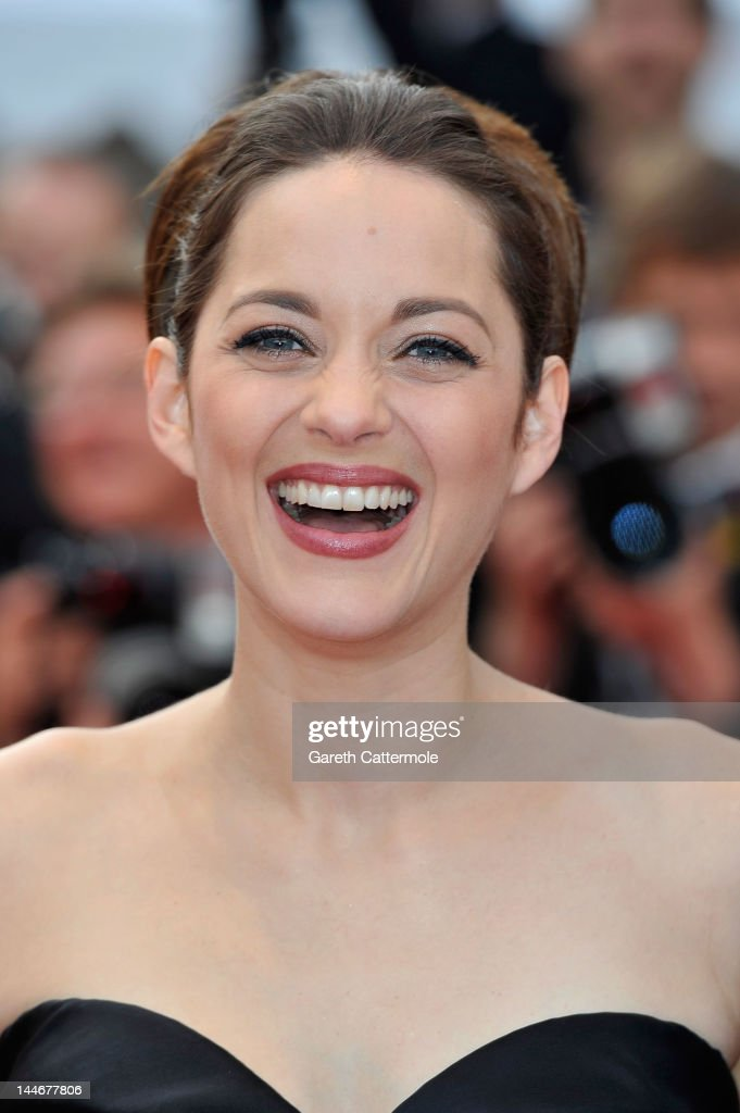 Actress Marion Cotillard attend the 'De Rouille et D'os' Premiere during the 65th Annual Cannes Film Festival at Palais des Festivals on May 17, 2012 in Cannes, France.